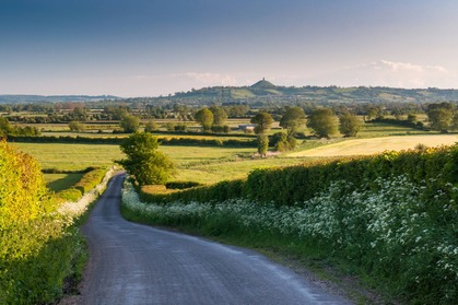 The road to Glastonbury